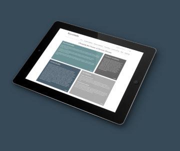 Minimalist web design for Essentialis Therapeutics. #webdesign essentialistherapeutics.com
