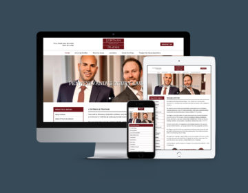 Responsive WordPress web design and development. ltlaw.com