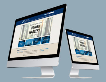 Lutheran church and school web design with Wordpress Multisite.