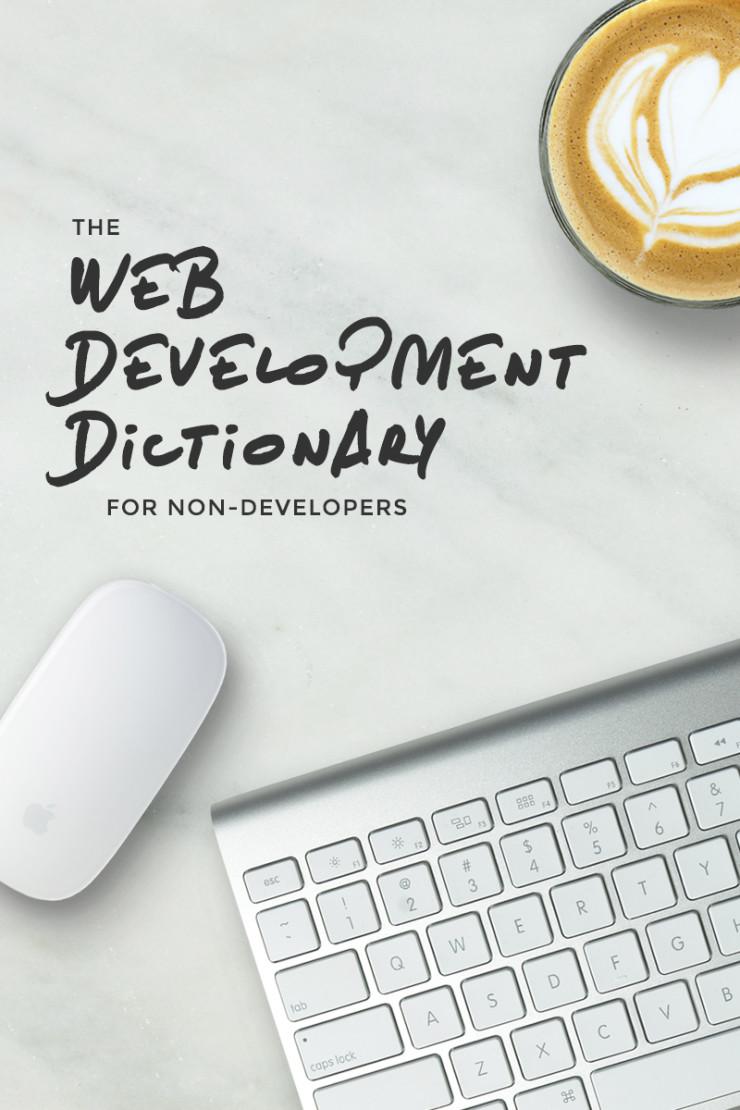 The Web Development Dictionary