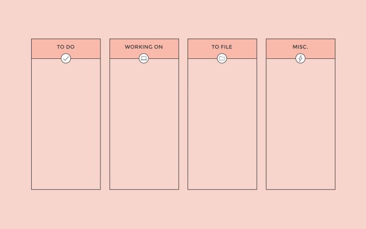 desktop-wallpaper-organizer-coral | Amanda Schoedel Creative