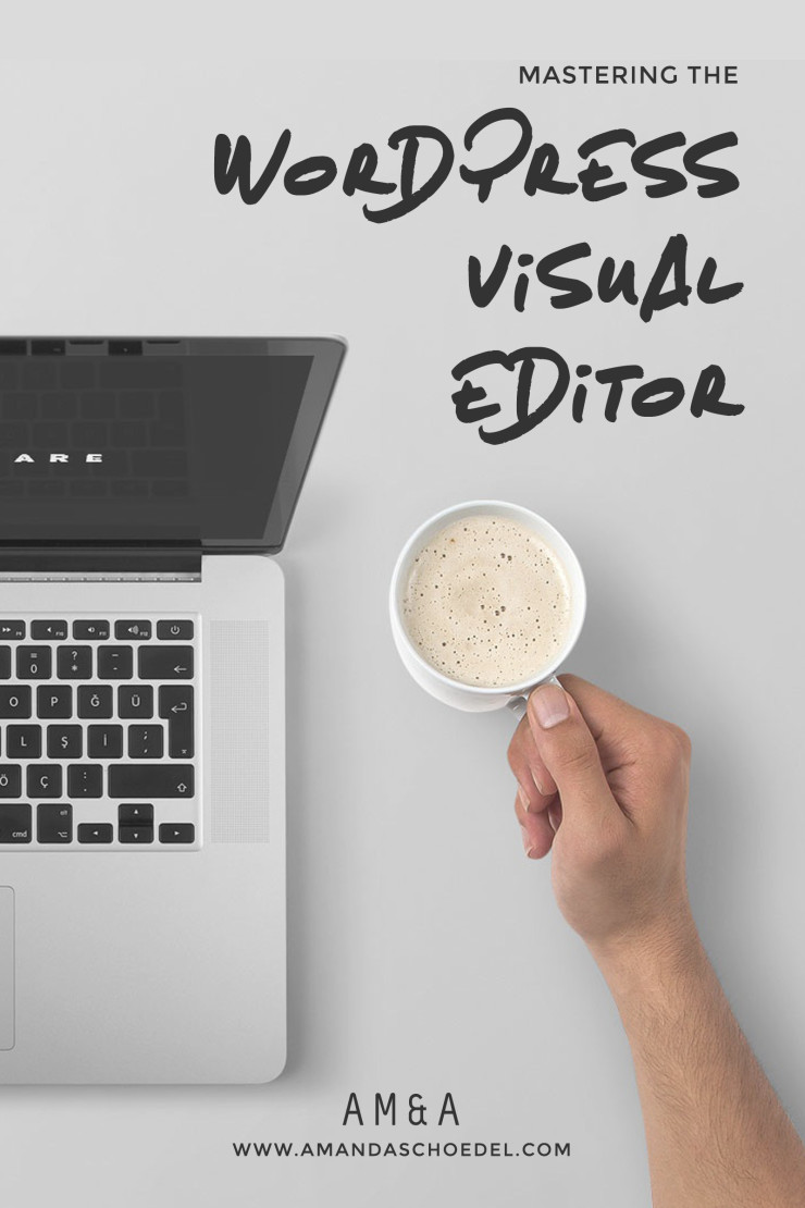 You're selling yourself short by not learning allof the toolsbuilt into the WordPress visual editor.