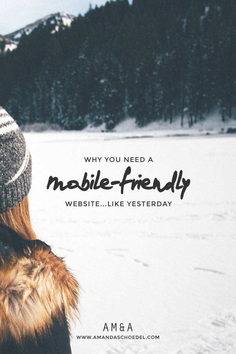 3 reasons you need a mobile-friendly website.
